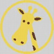 Giraffe Cross Stitch Pattern - via @Craftsy
