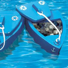 Floating Cooler Boat. We'll take a few of these please.