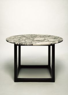 Josef Hoffmann; Marble Top Smoking Table, 1902.