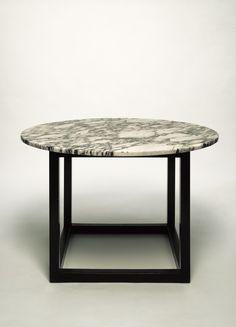 Josef Hoffmann; Marble Top Smoking Table, 1902.