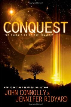 Conquest: Book 1, The Chronicles of the Invaders (The Chronicles of the Invaders Trilogy) by John Connolly http://www.amazon.com/dp/1476757127/ref=cm_sw_r_pi_dp_9nu7ub1MP717K