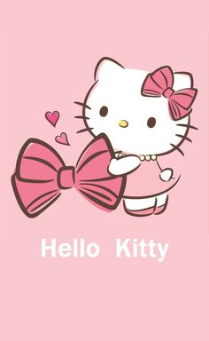 Cute Hello Kitty Wallpaper.