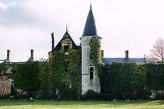 Manger ~ A Chateau in Ruins I Capture The Castle, Mimi Thorisson, Castle Ruins, Beautiful Forest, French Chateau, France Travel, Traveling By Yourself, Places To Visit, Exterior