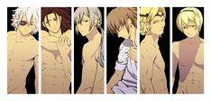 Zero, Ryoma, Joker, Takumi, Marx and Leo