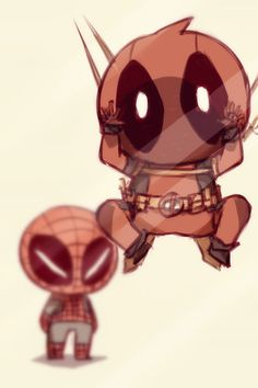 Spidy: Wade get off that wall....  Deadpool: but Spidy! It isn't a wall its an invisible fourth wall! Glass actually! Where a bunch of weird people watch us heh! I mean read us!  Spidy: still going on about the comic book theory? sigh come on Deadpool....we have things to do...  Deadpool: hold on let me just say hi to them! takes a deep breath HI!!!! WEIRD COMIC BOOK GEEKS!! THAT LIKES TOO READ US!! ESPECIALLY ME! waves
