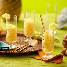 Pineapple Mimosa Granita
