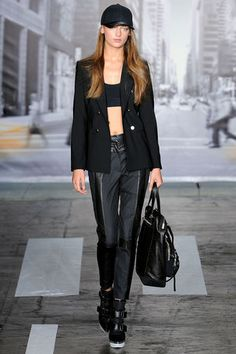 DKNY Spring 2013 Ready-to-Wear Collection Slideshow on Style.com