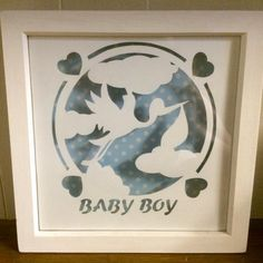 Baby Boy by Purple Unicorn Paper Cuts on www.totallytemplates.co.uk