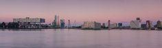 Nieuw in mijn Werk aan de Muur shop: Rotterdam panorama