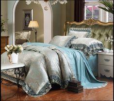 1db6802c9d902 China Beddings Sell Online · Classic noble Palace 4pcs Bedding Set luxury  modal silk cotton Queen king size bedlinen duvet