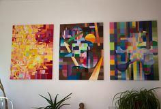 Malerei mit Wasserfarben #malerei #wasserfarben #netzauge #art #watercolors