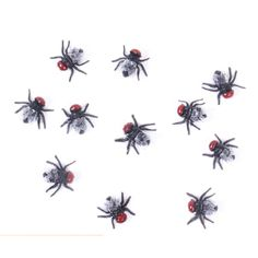 10pcs/lot Jokes funny Toys Gags Practical fly Plastic Bugs April Fool's Day props Simulated flying Halloween Decoration