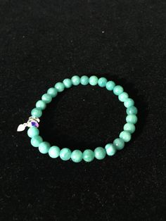Sea green bracelet by LiamLuv on Etsy
