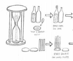 Information About Wine Cellar Racks Wine Cellar Racks, Wine Bottle Rack, Diy Bottle, Wine Bottle Crafts, Bottle Art, Liquor Bottles, Glass Bottles, Hourglass Timer, Recycled Wine Bottles