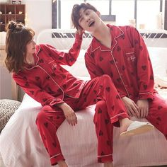 Matching Couple Outfits, Matching Couples, Couple Pajamas, Exercise Clothes, Anime Princess, Pajama Top, Sweet Couple, Japanese Style, Cute Fashion