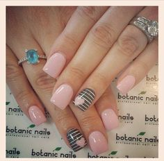 Image via Cute And Creative Swirl Nail Art Image via botanic nails design 2015 Image via botanic nails Image via Image via Simple Botanic Nail Art Designs for Short N Love Nails, Pink Nails, Pretty Nails, Gray Nails, Pastel Nails, Black Nails, Pastel Pink, Gelish Nails, Nail Manicure