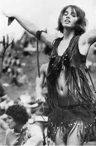 Woodstock   Girl dancing