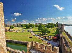 "Smederevo Fortress has been described as ""one of the most striking and monumental pieces of architecture surviving from medieval Serbia"", and ""the witness of Serbian creative force."""