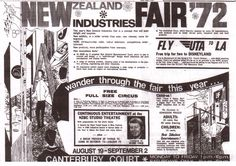 1972 Industries Fair, Canterbury Court, Christchurch, New Zealand Lma