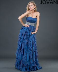 Jovani Formal Dress 1300 Royal