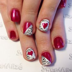 VALENTINE by sweetalize #nail #nails #nailart