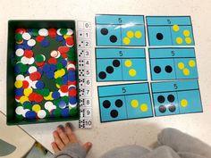 Le Journal de Chrys: Complément et décomposition en MS Subitizing, Kindergarten, Petite Section, Constellations, Classroom, Teaching, School, Journal, Cycle 1