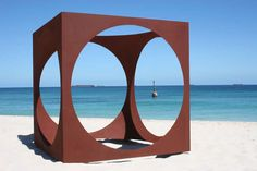 Mark Grey-Smith. within. Sculpture by the Sea, cottesloe 2009. Photo Leeanne Wright