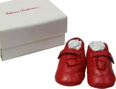 Hanna Andersson Soft Soled Leather Infant Shoes Size 2