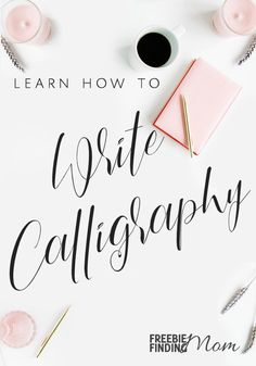 Would you like to learn how to write calligraphy? First, decide what type of calligraphy you want to learn (real or faux). Faux calligraphy is a modern calligraphy method that is a great place for beginners to start. You'll just need to get the proper tools which includes these free printable calligraphy alphabet letters then you'll be on your way to learning how to write in calligraphy. #calligraphy #learncalligraphy #moderncalligraphy #fauxcalligraphy #calligraphyforbeginners…
