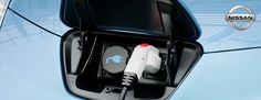 The Nissan LEAF on charge
