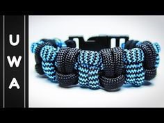 How to make the Modified Half Hitch Paracord Survival Bracelet [With Buckle] [Tutorial] - YouTube