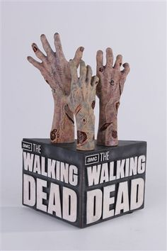 The Walking Dead, including zombie limb bookends.
