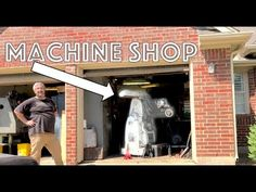 Garage Machine Shop In the City   FOR SALE - YouTube