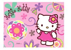 Hello Kitty bloemen