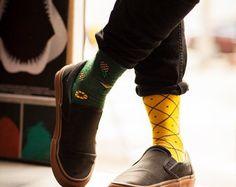 Scout Memory men socks colorful socks cool by ManyMornings