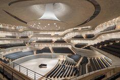 Elbphilharmonie Concert Hall in Hamburg [2640  1760] Photo by Iwan Baan