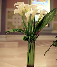 Wedding, Flowers, White, Ceremony, Gold, Church, Chicago, Callas - Project Wedding