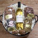 Alamo Pecan & Coffee San Saba Texas Wine and Pecan Baskets