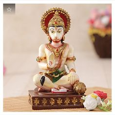 d2a0c2f1aecb Ram Bhakt Hanuman Resin Idol  Gift Send Home and Living Gifts Online(CC1033178)
