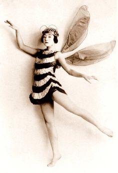 Bee costume, 1920s.
