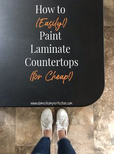 Refinishing laminate countertops by painting them with chalkboard paint, a cheap kitchen update! Refinishing laminate countertops by painting them with chalkboard paint, a cheap kitchen update!