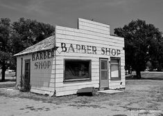 Old Historic Abandoned Barber Shop in Tyrone by ScenicSurroundings, $25.00