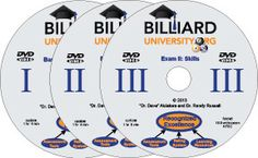 Billiard University Instruction Series DVDs Billiards Game, Pool Workout, Play Pool, Video On Demand, Training Programs, Saving Money, University, Pool Table, Learning