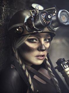 Steampunk Fashion by photographer Rebeca Saray.