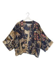 Bamboo Indigo Kimono