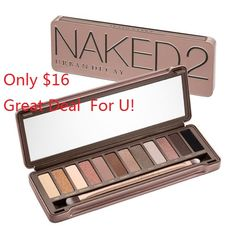 Enjoy Discount Urban Decay 2 eyeshadows online .Brilliant Quality with amazing Price Tag Must Mave Honestly im not sure if i trust this, it might be a scam to get your credit information....but if its legit....what an awesome deal! Keeping my eye on it.....