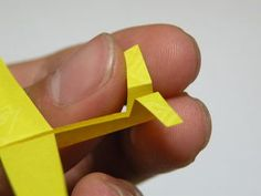 Mini Staple Sailplane : 12 Steps (with Pictures) - Instructables Paper Airplane Models, Paper Planes, Paper Airplanes Instructions, Paper Aircraft, Diy And Crafts, Paper Crafts, Computer Paper, Airplane Design, Bubble Wands