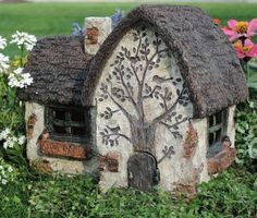 Fairy Garden Miniature House Robins Way. SHOP now... $34.99