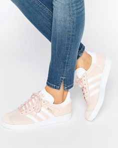adidas pink suede gazelle sneaker Clothing, Shoes & Jewelry : Women : Shoes : Fashion Sneakers : shoes  http://amzn.to/2kB4kZa