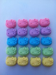 Hello kitty soaps party favors girls birthday favors by BBSoaps, $1.70
